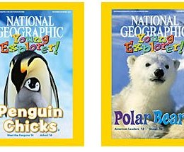 Free Educational Resource: Read and Listen to National Geographic Young Explorer