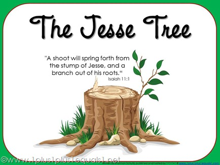Image result for jesse tree clipart