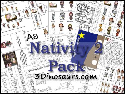 Free Nativity Printable Packs