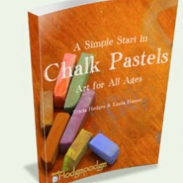 A Simple Start in Chalk Pastels on Sale for $19.99!
