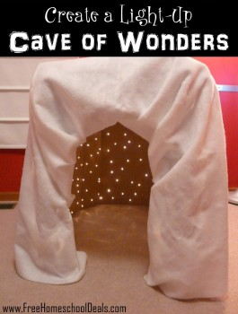 Create a light up cave of wonders
