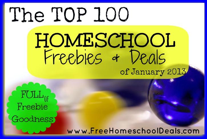 Homeschool Freebies and Deals