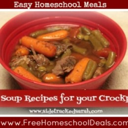 Winter Soup Recipes for Your Crockpot