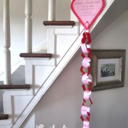 Free Valentine's Day Scripture Chain Printable