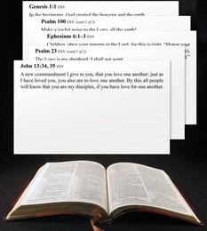 Free Scripture Memory Verse Cards