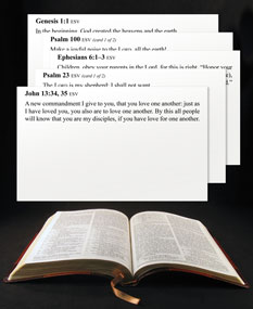 Free Scripture Memory Verse Cards