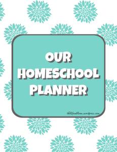 Free 2013 Homeschool Planner