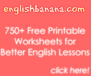 Free Worksheets for English, EFL, and ESL Lessons