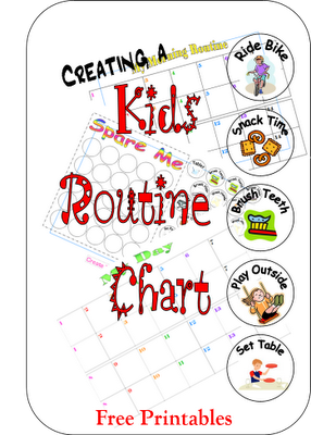Free Routine Chart Printables