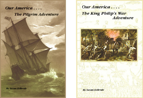 Free Printable Activities for The Pilgrim Adventure and The King Philip's War Adventure