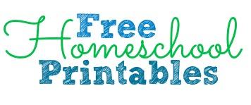 Free Homeschool Printables