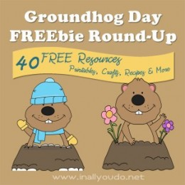 Free Groundhog Day Printables