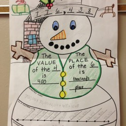 Snowman Place Value