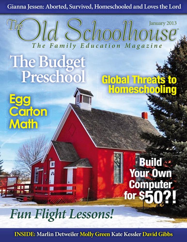 Free Digital Subscription: The Old Schoolhouse Magazine