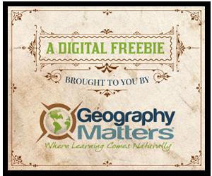 Geography Matters Freebies