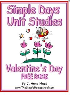 Free Valentine's Day Unit Study