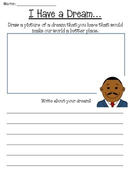 Free Martin Luther King Jr Day Worksheet Packet