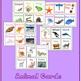 Free Animal Card Printables