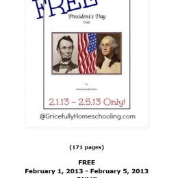 Free Presidents Day Unit Study