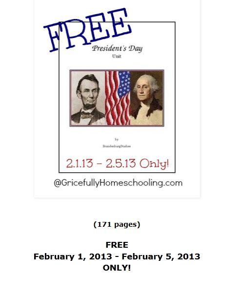 Free Presidents Day Unit Study