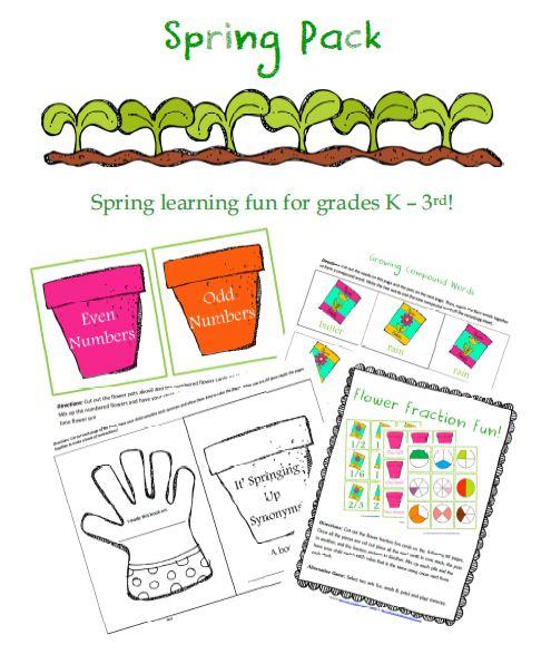 Free Spring Printable Pack