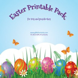 Free Easter Printable Pack for Tots and Preschoolers