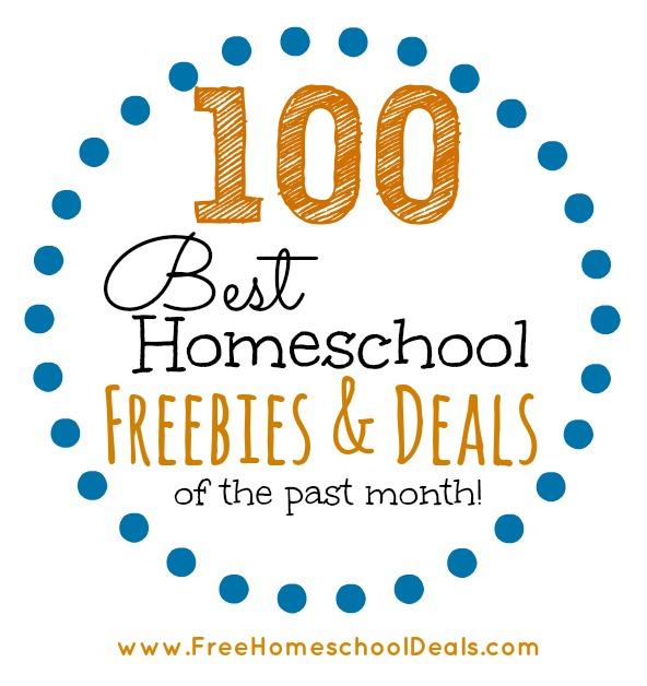 homescgool freebies and deals