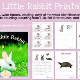 Free The Little Rabbit Printables
