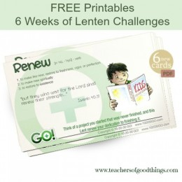 Free Lent Printables