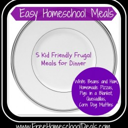 Easy Homeschool Meals