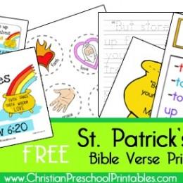 Free St. Patrick's Day Bible Printables