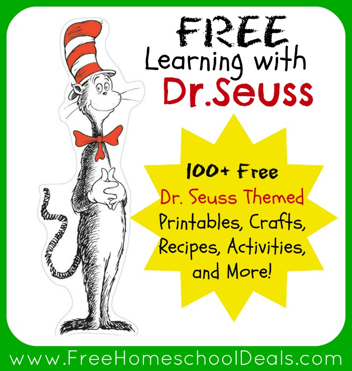 Learning with Dr Seuss 100 Free Dr Seuss Themed Printables – Dr Suess Worksheets