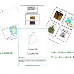 Free Ireland Lapbook