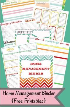 Free home management binder maxwellsz