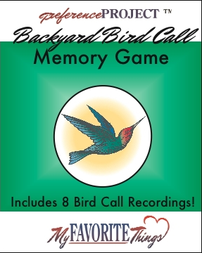 Free Bird Call Memory Game w/ Audio