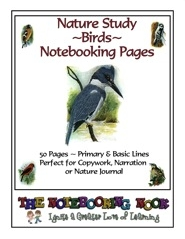 Free Bird Notebooking Pages
