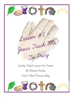Free Jesus Teach Me to Pray Printables