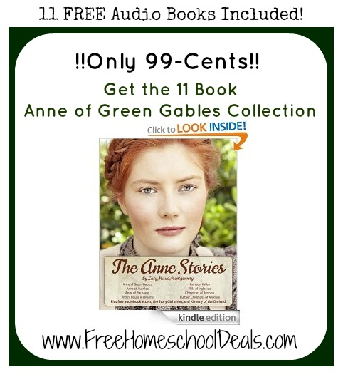 Anne of Green Gables Amazon Deal