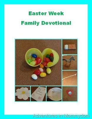 Free Easter Week Family Devotional