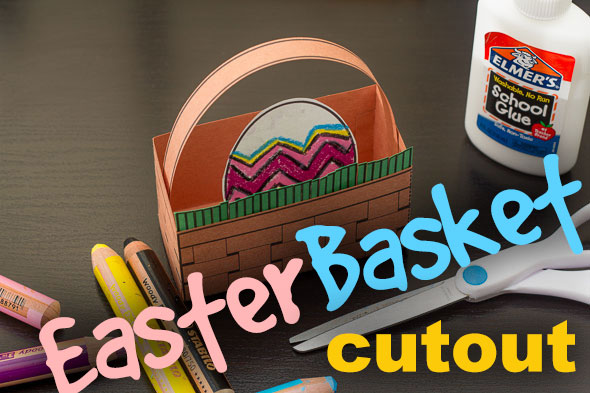 Free Printable Easter Basket Project from The Homeschool Classroom