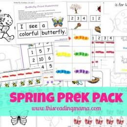 Free Worksheets: Free Printable Spring Pack