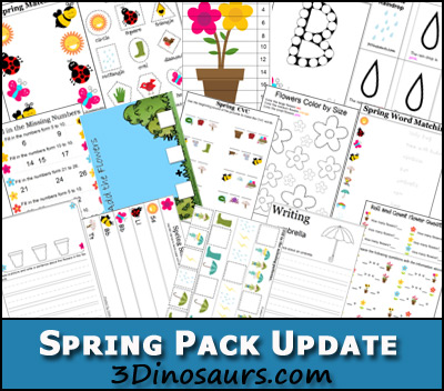 Free Spring Printable Pack (80+ Pages)