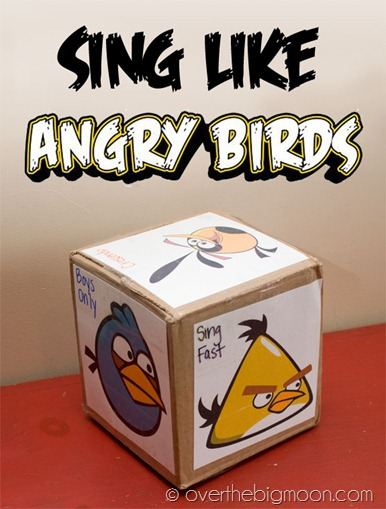 Free Sing Like an Angry Bird