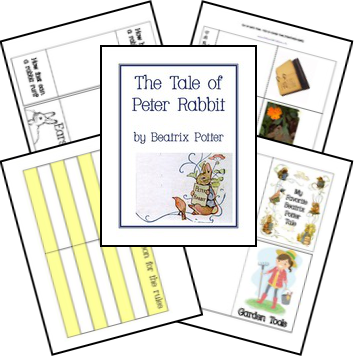 FREE The Tale of Peter Rabbit Unit Study & Lapbook Printables