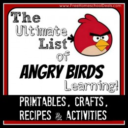 The Ultimate List of Angry Birds Learning: Over 50+ Free Printables, Crafts, Recipes, and Activities!