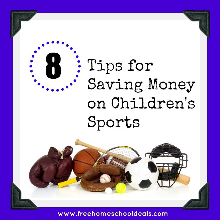 saving money on children's sports