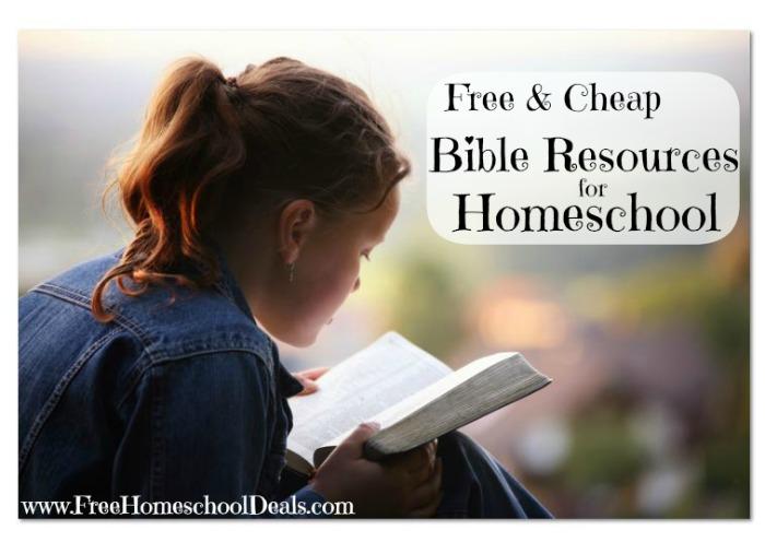 Free Homeschool Bible Resources