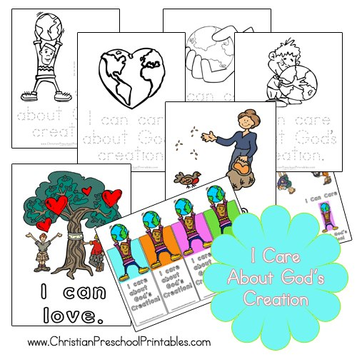 free Earth Day Bible printables