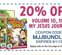 whats in the bible discount code