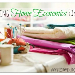 Homeschooling for Free and Frugal: Teaching Home Economics for Free
